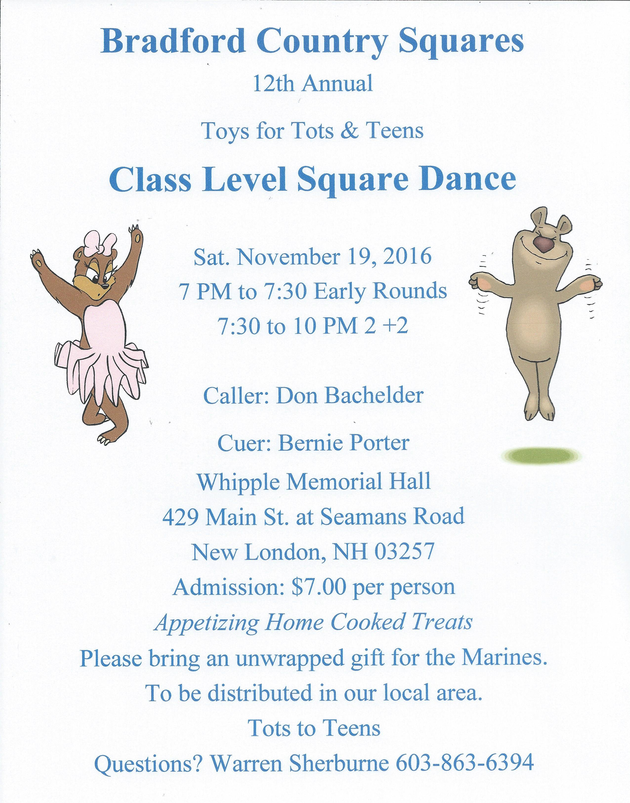 Toys For Tots Flyers Printable : Downloadable flyers don bachelder square dances