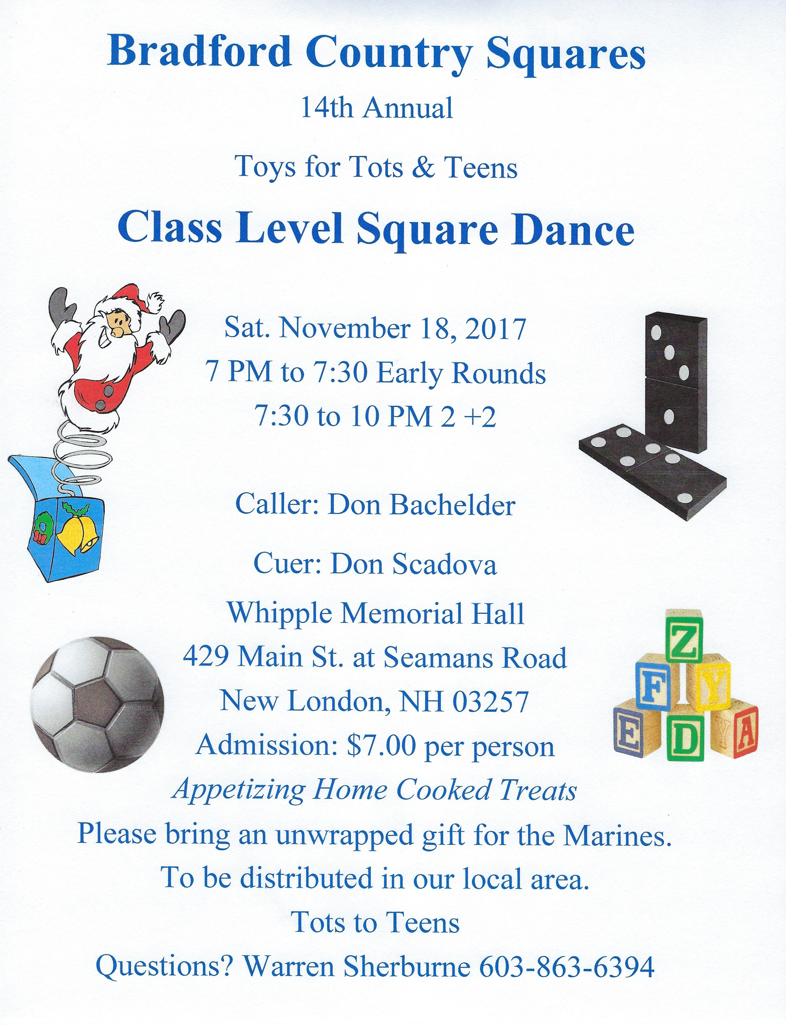 Announcement Email Sample Toys For Tots : Downloadable flyers don bachelder square dances